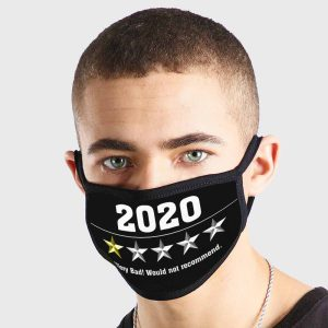2020 1 Star Would Not Recommend Non Medical 3 Ply Face Mask