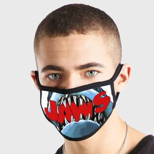 Animal Jaws Non Medical 3 Ply Face Mask