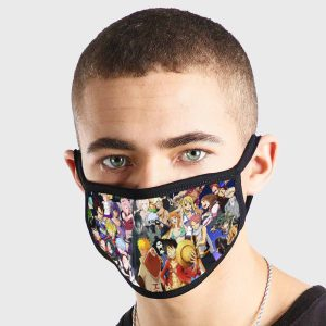 Anime All Naruto Non Medical 3 Ply Face Mask