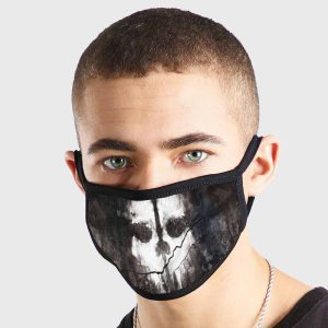 Call Of Duty Ghosts Non Medical 3 Ply Face Mask
