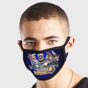 Clash Royale Non Medical 3 Ply Face Mask