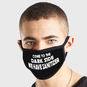 Come to the Darkside Non Medical 3 Ply Face Mask