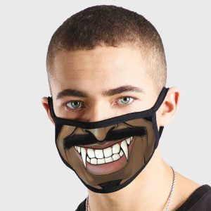 Comic Fangs Non Medical 3 Ply Face Mask