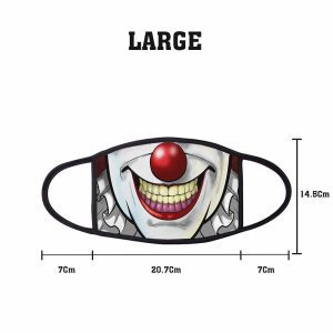 Comic IT Clown Non Medical 3 Ply Large Face Mask Size
