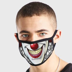 Comic IT Clown Non Medical 3 Ply Face Mask