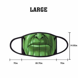 Comic Thanos Non Medical 3 Ply Large Face Mask Size