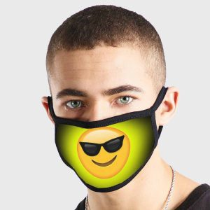 Emoji Cool Non Medical 3 Ply Face Mask