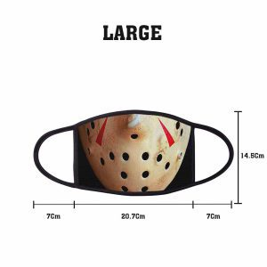 Horror Jason Non Medical 3 Ply Large Face Mask Size