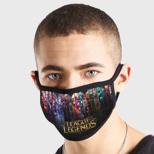 League Of Legends Prism Non Medical 3 Ply Face Mask
