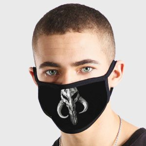 Mandalorian Skull Non Medical 3 Ply Face Mask