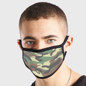 Pattern Army Camouflage 2 Non Medical 3 Ply Face Mask
