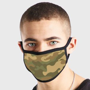 Pattern Army Camouflage Non Medical 3 Ply Face Mask