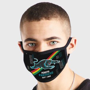 Penrith Panthers NRL Non Medical 3 Ply Face Mask