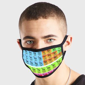 Periodic Table Non Medical 3 Ply Face Mask