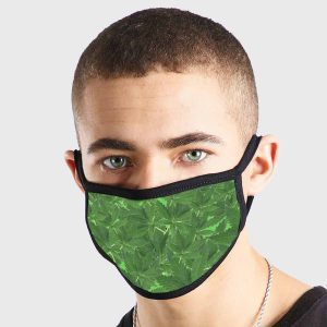 Weed Leaves Non Medical 3 Ply Face Mask